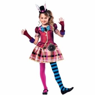 Disfraz  Miss Sombrerera  para niña