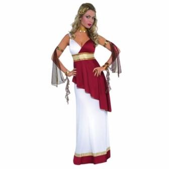 Disfraz Romana imperial  para mujer
