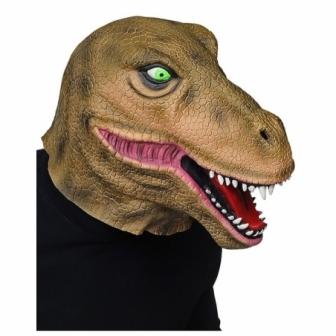 Máscara Tiranosauro  latex