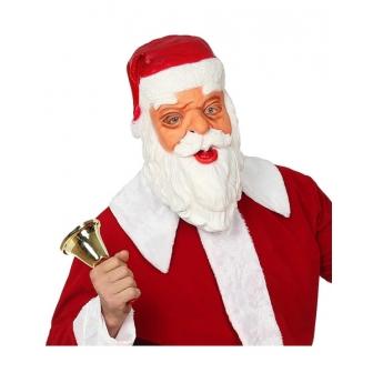 Máscara Papa Noel latex cabeza completa