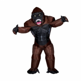 Disfraz Gorila furioso  hinchable