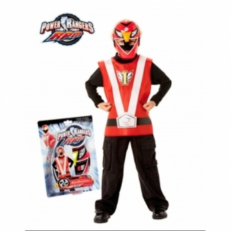 Set Action Power Ranger rojo / negro