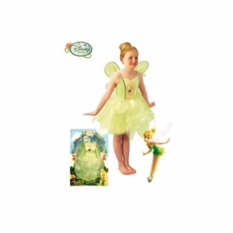 Disfraz Campanilla con Luz niña en caja