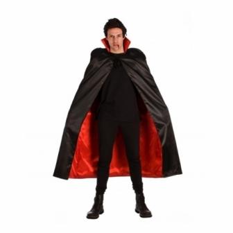 Disfraz negra-roja adulto