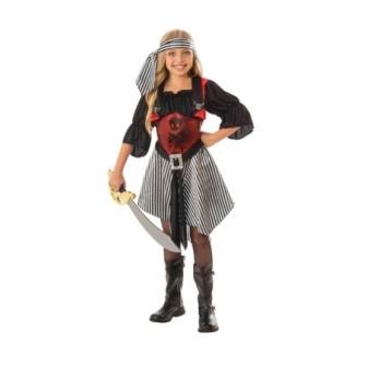 Disfraz Piratesa Escarlata niña