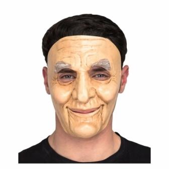 Máscara de abuelo látex