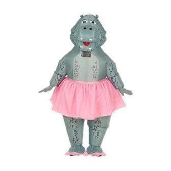 Disfraz Hipopótamo Bailarin hinchable
