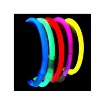 Pulseras Luminosas paquete de 50 unid.