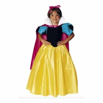 Disfraz Princesa nieves para niña deluxe