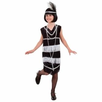 Disfraz Charleston años 20 para niña