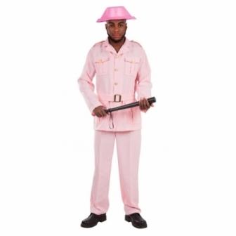 Disfraz Guardián rosa para hombre