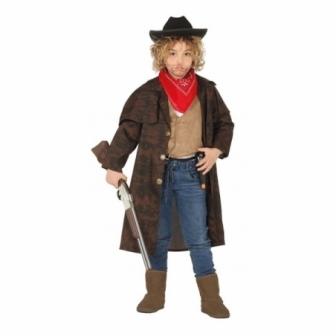 Disfraz Abrigo cowboy infantil