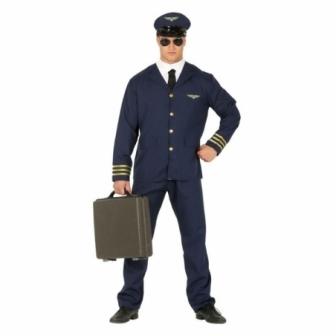 Disfraz Piloto aerolineas para hombre