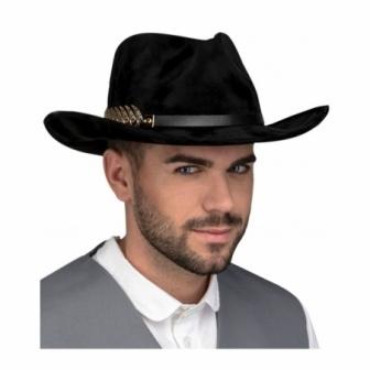 Sombrero Vaquero con detalles adulto lux