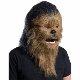 Máscara Chewbacca adulto deluxe