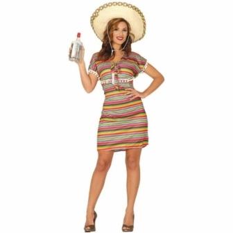 Disfraz de Mejicana para mujer T.S