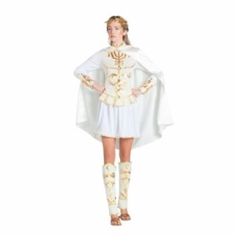 Disfraz Romana blanca para mujer