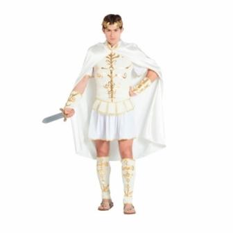 Disfraz Romano blanco para hombre