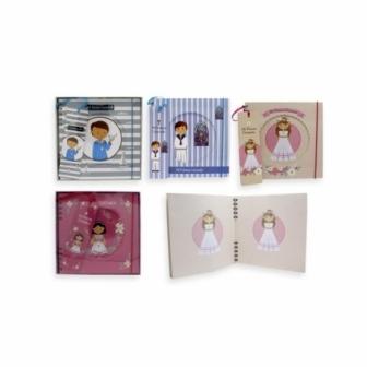 Primera Comunión cuaderno-album espiral