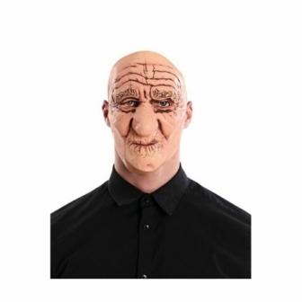 Máscara anciano de látex