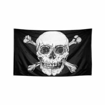 Bandera poliéster esqueleto 200x330cm
