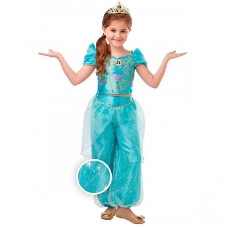 Disfraz Jasmine Glitter/Sparkle dlx niña