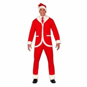 Traje chaqueta Papa Noel para hombre