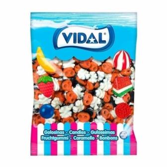 Bolsa Calaveras chuches 250 uds.  Vidal