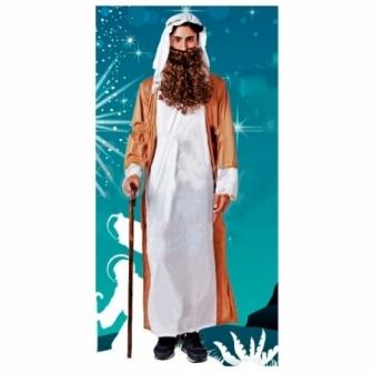 Disfraz de San José blanco para adulto