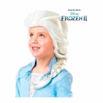Peluca Elsa Frozen 2 infantil