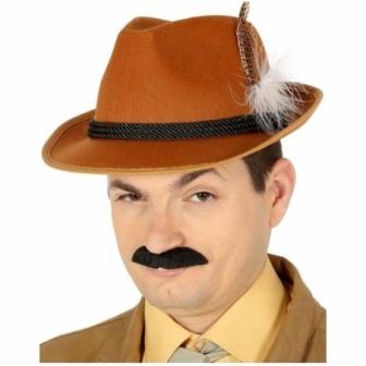 Sombrero cazador marrón