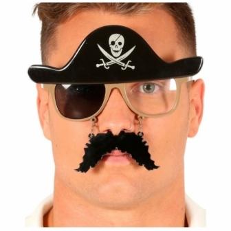 Gafas Pirata con bigote