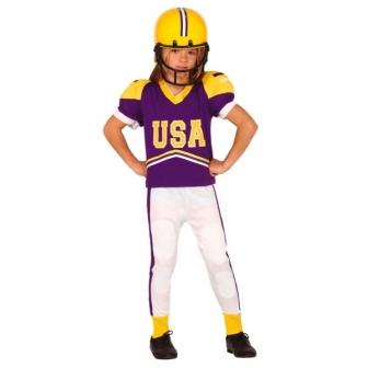 Disfraz Jugador de Fútbol americano niño