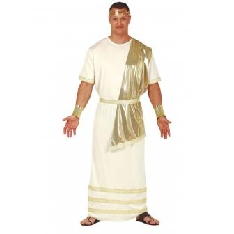 Disfraz Romano dorado para adulto