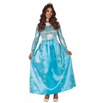 Disfraz Princesa escarchada para mujer