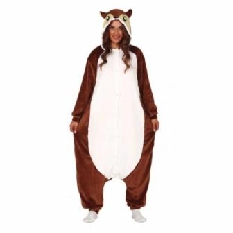 Disfraz Pijama Ardilla para mujer
