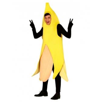 Disfraz Banana marrana para adulto