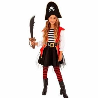 Disfraz Piratesa tutu infantil