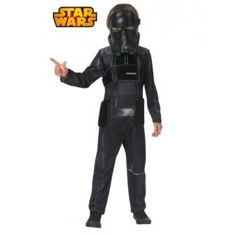 Disfraz Death Trooper negro infantil lux