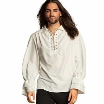 Camisa Pirata / Medieval colores  adulto
