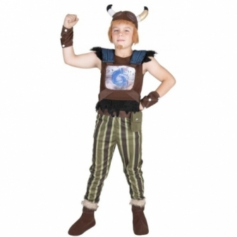 Disfraz de Vikingo valiente infantil