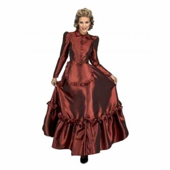 Disfraz de Dama Escarlata Oeste mujer