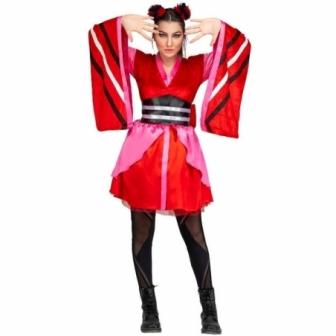 Disfraz de Japonesa Fan para mujer