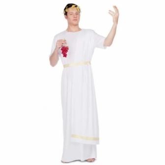 Disfraz de Romano blanco para hombre