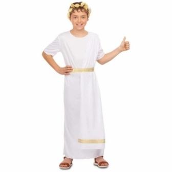 Disfraz Romano blanco para niño