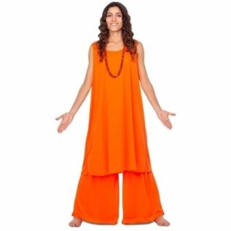 Disfraz Discípula Budista para mujer