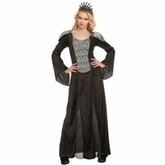 Disfraz Reina negra para mujer