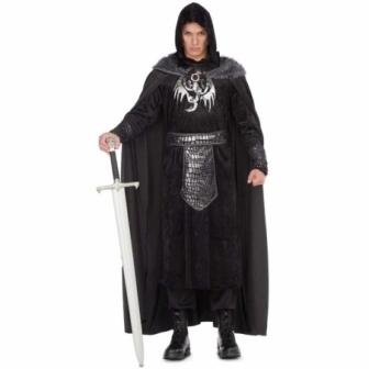 Disfraz medieval Rey del invierno adulto