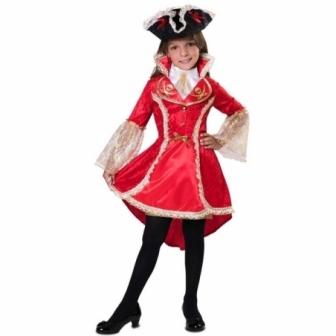 Disfraz Capitana corsaria para niña