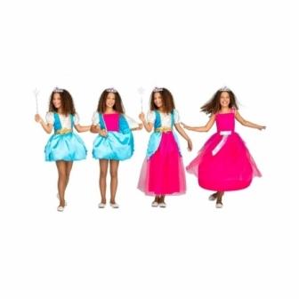 Disfraz Princesa mágica 2 en 1 para niña